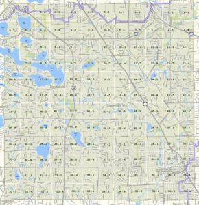 Township Map - T2N R10E