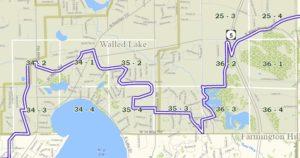 Township map - T2N R8E